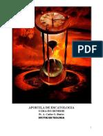 Apostila de Escatologia 2019