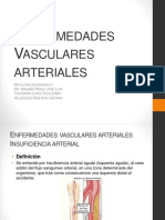 Enfermedades vasculares arteriales