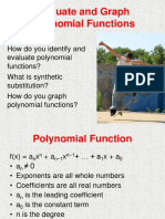 2.2 Evaluate and Graph Polynomial Functions (1)