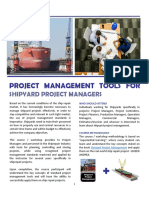 Course Curriculum - PM Tools for Shipyard PMs