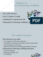Computer Assisted Audit Tools (CAAT)