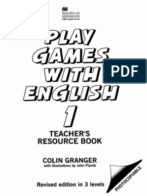 with english 2 play book games