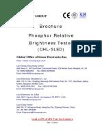 LISUN Phosphor Relative Brightness Tester