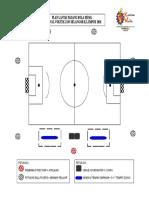 Plan Lantai Padang Bola Sepak Voktek