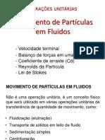Aula 3 - Movimento Das Particulas Em Fluios (2)
