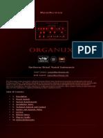 Organux Virtual Organ VST Instrument Software