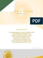 Pengertian virus dan prion