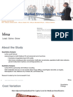 handout for 18at20a - the impact of market structure on total cost of care