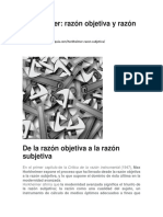 Horkheimer. Razón objetiva y razón subjetiva.docx