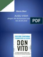 Mario Mori - difesa