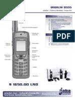 IRIDIUM 9555 Telefono Satelital
