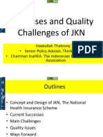 Present Hasbullah T Success and Quality Challenges for JKN