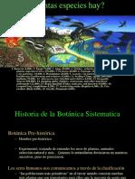 Historia de La Botanica Sistematica
