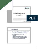 AdvancedFinancialModelling