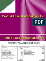 Profit and Loss Appn Ac