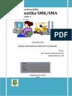 Lembar Kerja Siswa (LKS) Matematika SMK_SMA Kelas X Semester 1