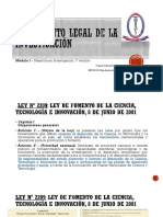 Fundamento legal y Lectura crítica