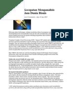Pentingnya Kecepatan Menganalisis Peristiwa Dalam Dunia Bisnis.docx