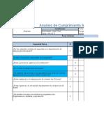 Plantilla Nivel de Cumplimiento Auditoria (1)