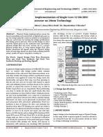 Physical Design Implementation of 32Bit RISC processor using Synopsys ICC primetime & StarRC XT
