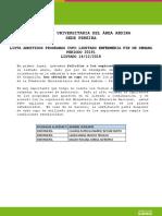 2019.1 4 Per Listado Pereira Enfermeria Fin de Semana Cuarto