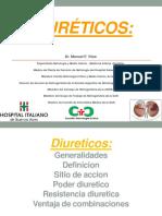 Diureticos Generalidades .pdf
