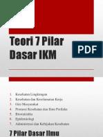 3a. Teori 7 Pilar Dasar IKM.pptx