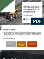 Beneficios Macro y Microeconómicos de La Minería (1)