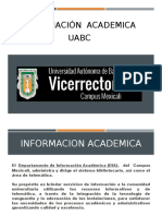 4.4 Informacion Academica