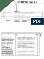 modelo planificación anual de orientación