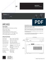 Manual for Audio Source Amp