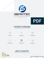 Geantec Introduction