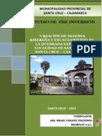 Defensa Ribereña en Río Santa Cruz