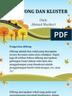 PPT-Diftong dan Kluster.pptx