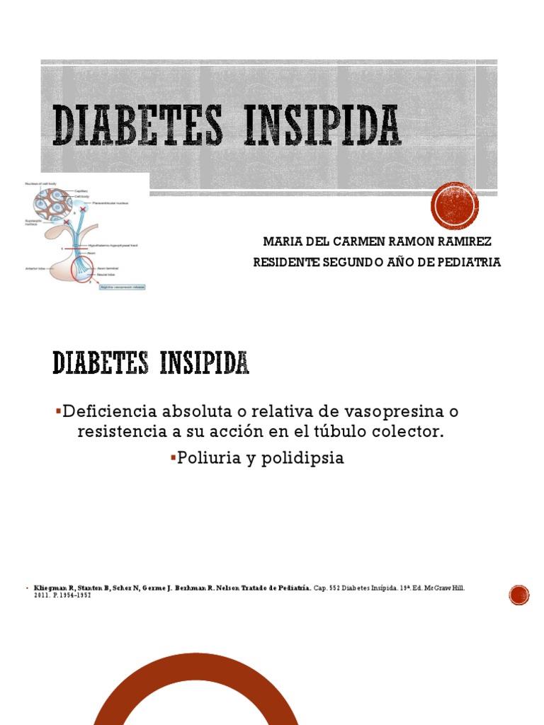 diabetes insípida pediatría ppt