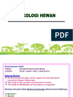 2. Pendahuluan Ekologi Hewan