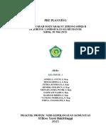 PRE PLANNING mmj II.docx