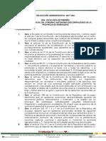 resolucion administrativa