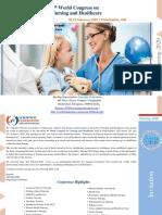 World Congress on Nursing and Healthcare