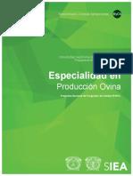 Especialidad en Producción Ovina