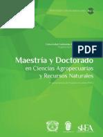 Maestría en Ciencias Agropecuarias y Recursos Naturales Uaem