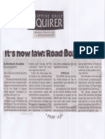 Philippine Daily Inquirer, Mar. 20, 2019, It's now law Road Board gone.pdf