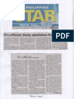 Philippine Star, Mar. 20, 2019, It's official Rody abolishes Road Board.pdf