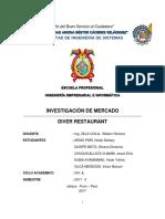 Proyecto, Restaurant Investigacion de Mercado