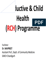 Reproductive & Child Health