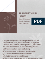 Transnational Issues
