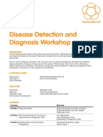 Disease Detection and Diagnosis