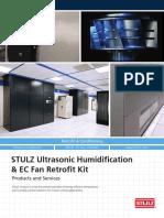 STULZ Ultrasonic Humidification EC Fan Retrofit Kit Brochure