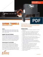 Shrink Tunnel Professional Series Brochure