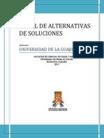 ARBOL DE ALTERNATIVAS  DE SOLUCIONES.docx